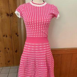 Dresses & Skirts - Pink gingham dress unique vintage